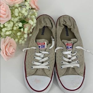 Converse all star perforated size 11